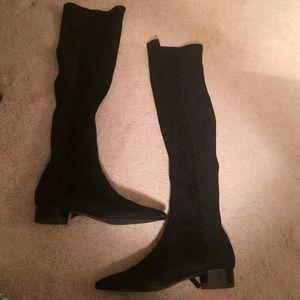 ZARA High knee boots